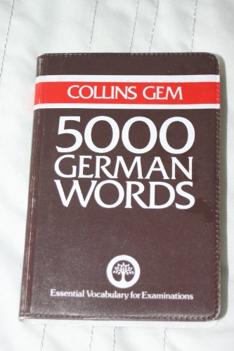 5000 German Words By Barbara Christie