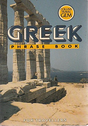 Greek: Phrase Book (Travel Gems)