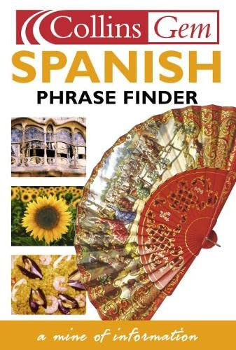 Collins Gem Spanish Phrase Finder