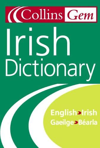 Irish Dictionary (Collins Gem) (Collins Gems) By Seamus Mac Mathuna