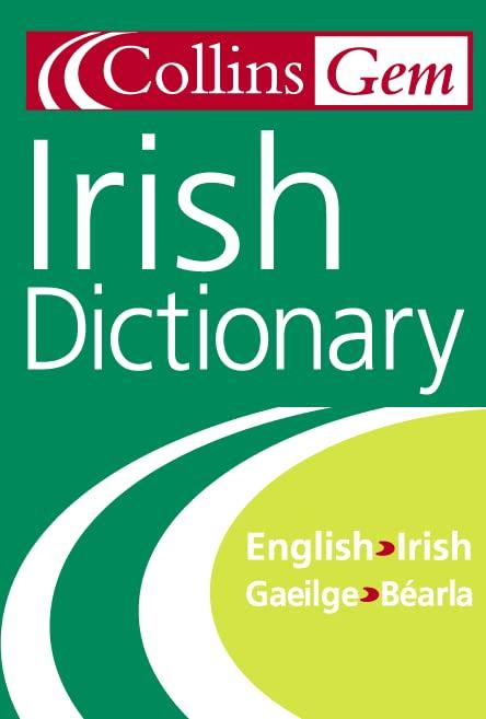 Collins Gem Irish Dictionary By Seamus Mac Mathuna