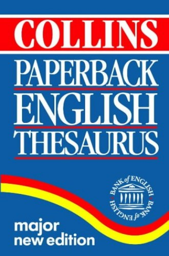 Collins Paperback Thesaurus By Anon