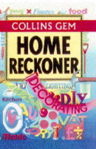 Collins Gem Home Reckoner By The Diagram Group