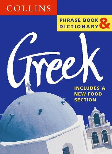 Collins Greek Phrase Book and Dictionary By Not Known