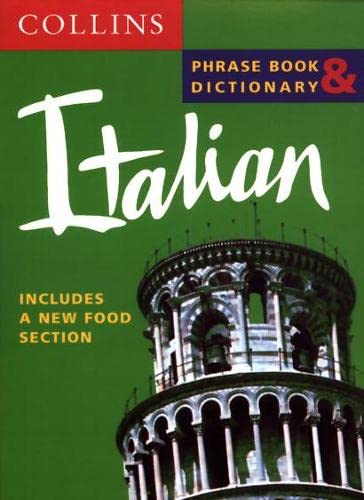 Collins Italian Phrase Book and Dictionary (Collins Phrase Book & Dictionary) by Unknown Author