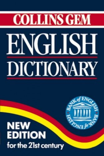 Collins Gem English Dictionary By Not Stated