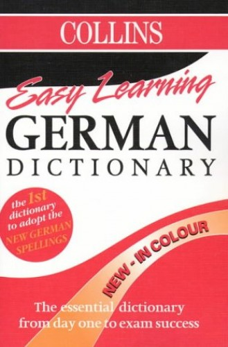 Collins Easy Learning German Dictionary By Collins