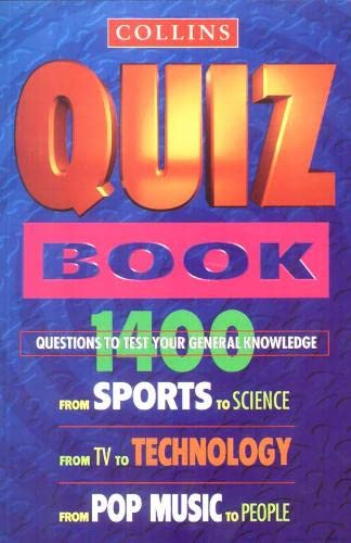 Collins Second Quiz Book By Carol P. Shaw