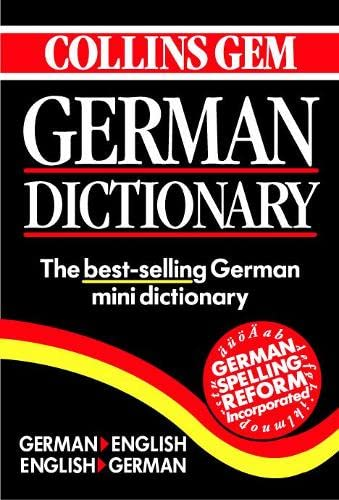 German Dictionary By Harper Collins Publishers