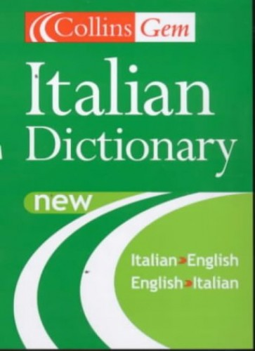 Collins Gem Italian Dictionary By Harper Collins Publishers