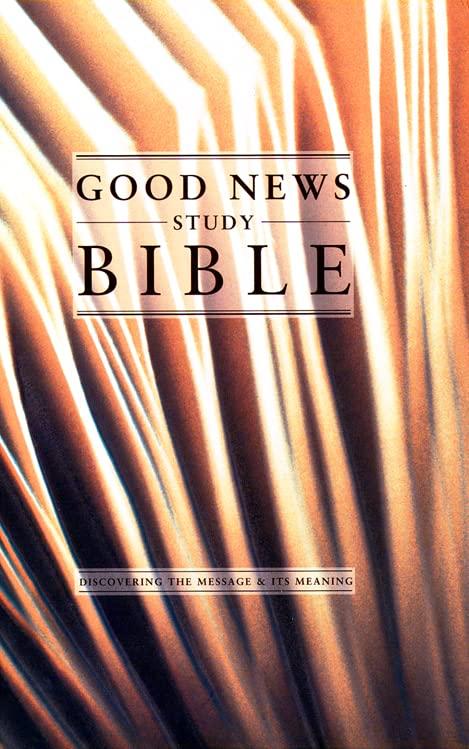 Good-News-Study-Bible-GNB-by-Wall-Aspin-Hardback-Book-The-Cheap-Fast-Free