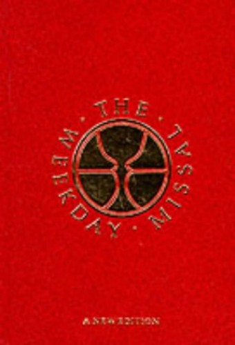 The Weekday Missal: New Edition (Red Standard) By The Grail Psalms
