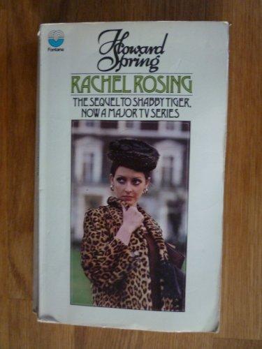 Rachel Rosing By Howard Spring