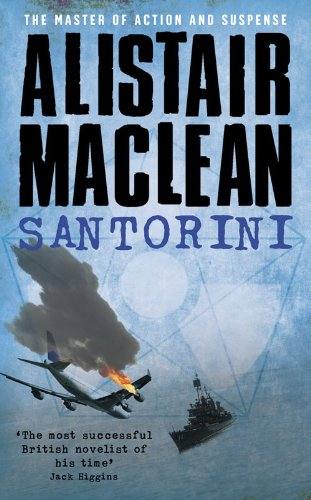 Santorini (2009 HarperCollins edition) By Alistair MacLean