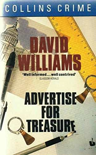 Advertise for Treasure by David Williams