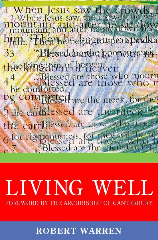 Archbishop of Canterbury's Lent Book By Robert Warren