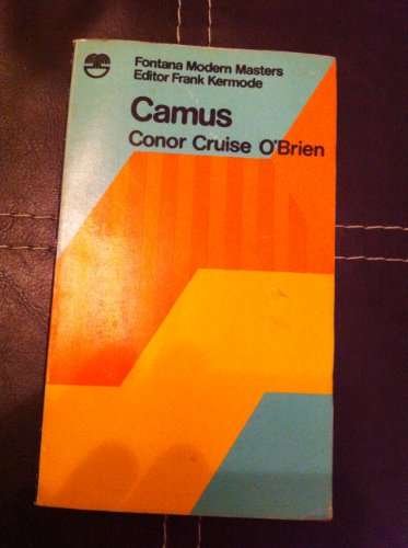 Camus (Modern Masters) By Conor Cruise O'Brien