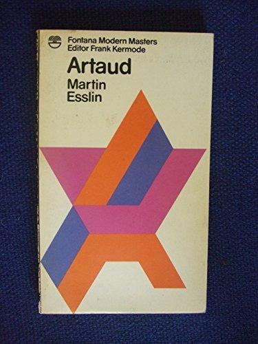 Antonin Artaud By Martin Esslin