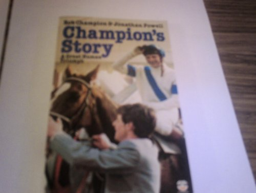 Champion's Story by Jonathan Powell Paperback Book The Cheap Fast Free Post