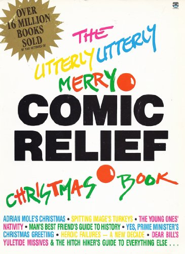 Utterly Utterly Merry Comic Relief Christmas Book By Douglas Adams