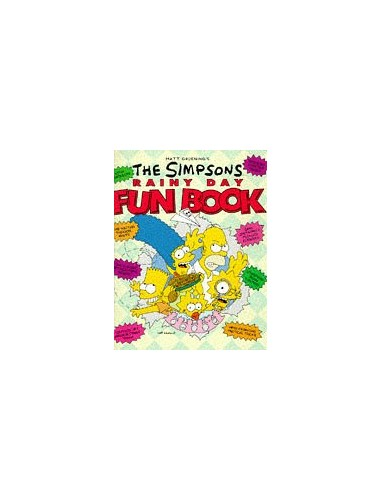 The Simpsons Rainy Day Fun Book By Matt Groening