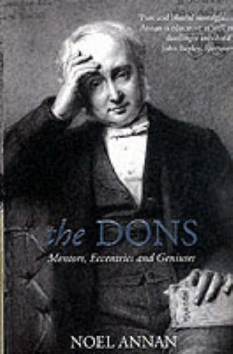 The Dons By Noel Gilroy Annan