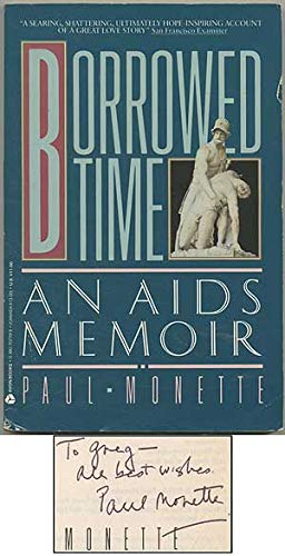 borrowed time an aids memoir