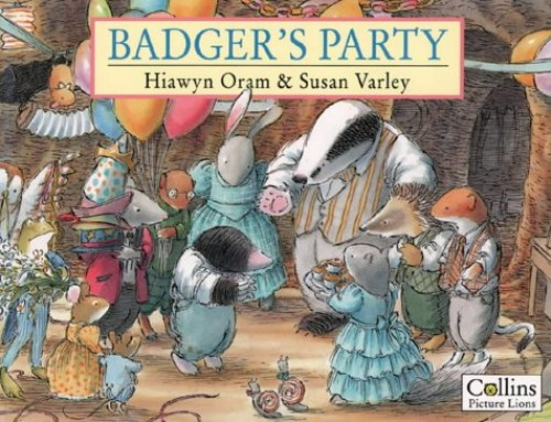 Badger's Party By Hiawyn Oram