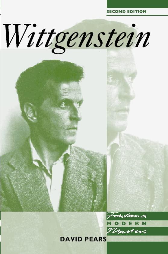Wittgenstein By David Pears