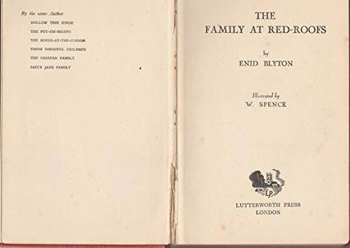 Family at Red Roof EB By Enid Blyton