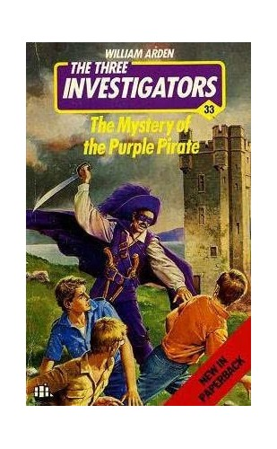Mystery of the Purple Pirate (Alfred Hitchcock Books) by William Arden