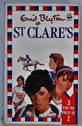 St. Clare's Three-in-one Book By Enid Blyton