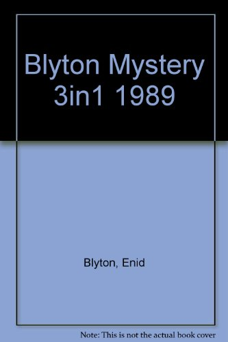Mysteries Three-in-one Book By Enid Blyton