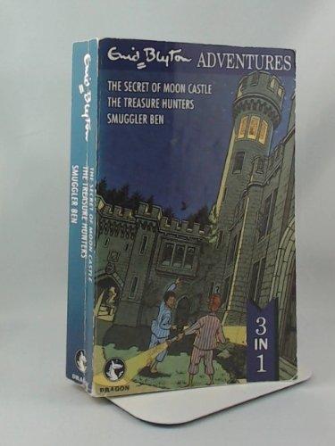 The Secret of Moon Castle, The Treasure Hunters, Smuggler Ben By Enid Blyton
