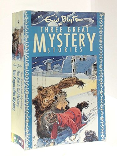 Three Great Mystery Stories By Enid Blyton