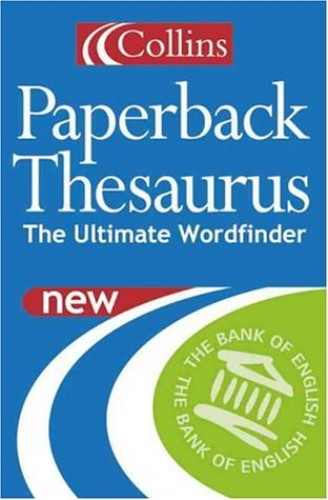 Collins Paperback Thesaurus By NA