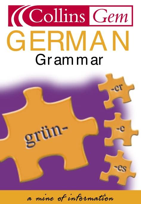 Collins Gem German Grammar