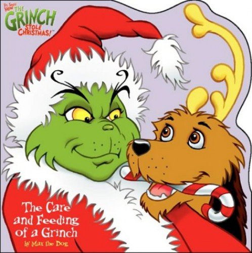 Dr. Seuss' How the Grinch Stole Christmas!™ – The Care and Feeding of a Grinch: Shaped story book Illustrated by Christopher Moroney