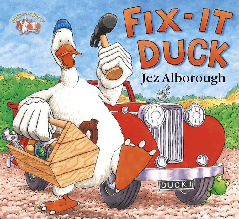 Fix-it Duck By Jez Alborough