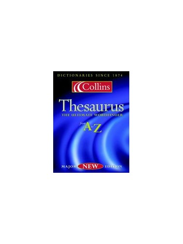 Collins Thesaurus A-Z By """"