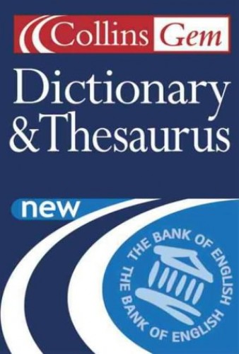 Dictionary and Thesaurus (Collins Gem) by Unknown Author
