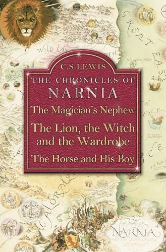 The Magician's Nephew / The Lion, The Witch and The Wardrobe / The Horse and His Boy By C. S. Lewis