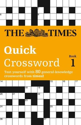 The Times Quick Crossword Book 1 By The Times Mind Games