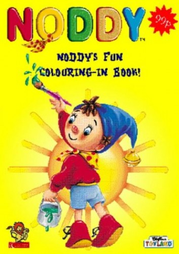 Noddy's Colouring-in Book By Enid Blyton