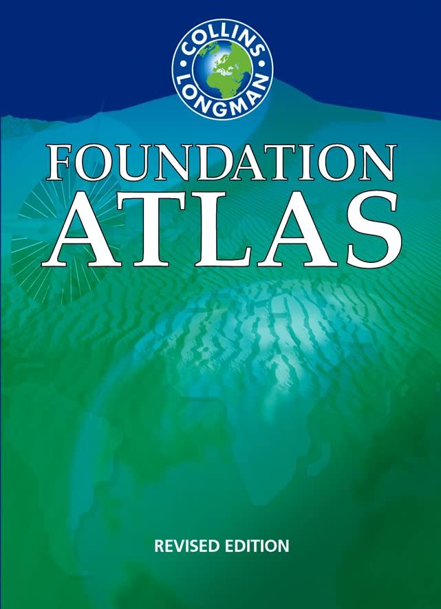 Collins Longman Foundation Atlas 2nd Edition Paper By Francisco Estrada