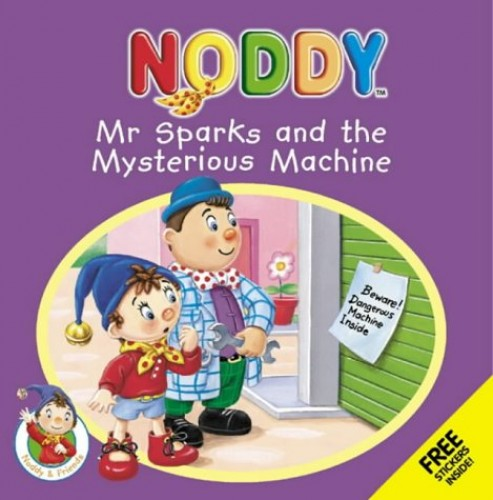 Mr Sparks and the Mystery Machine By Enid Blyton