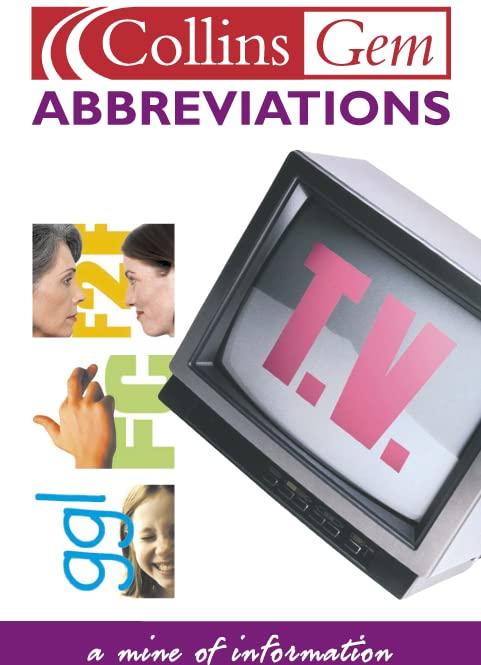 Abbreviations By Graham King