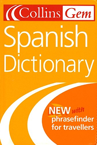 Spanish Dictionary By Created by Collins Gem