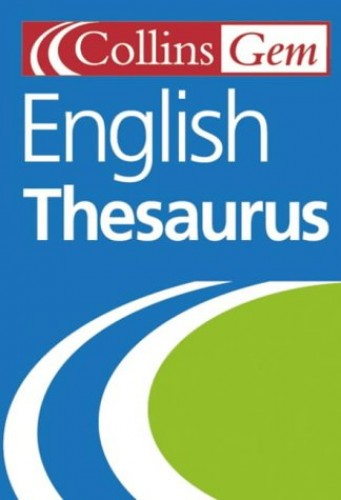 English Thesaurus By Not Known