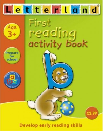 First Reading Activity Book (Letterland Learning At Home) (Letterland Activity Books) By Gudrun Freese